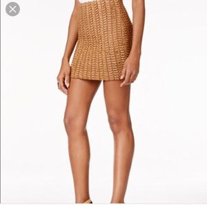 GUESS Basket Weave Skirt - Size Small